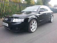 2004 Audi A4 2.5 TDI sport Black 4 Door automatic B6 saloon Not (mercedes,Bmw,volkswagon,mini,Seat