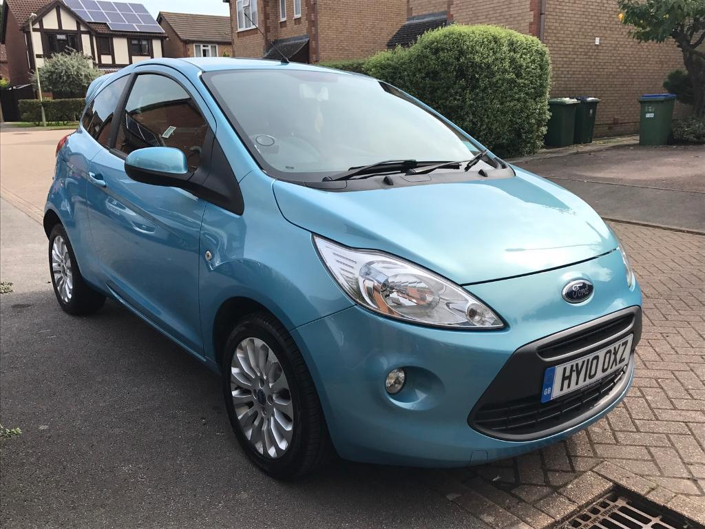 Ford Ka Zetec With Parking Sensors Spoiler
