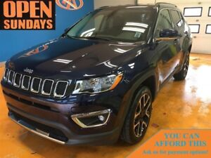 2017 Jeep Compass LIMITED! LEATHER! HEATED SEATS & STEERING WHEE