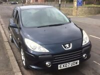 Peugeot 307, 1.6 HDI, Diesel, manual transmission - £1500