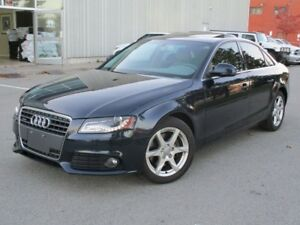 2009 Audi A4 2.0T LEATHER SUNROOF