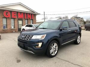 2016 Ford Explorer Limited 4x4 Leathe Roof Navi Remote Start