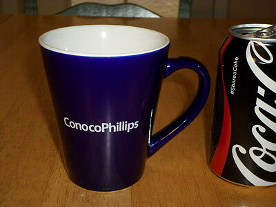Conocophillips   Oil   Natural Gas Company  Ceramic Coffee Cup   Mug  Vintage