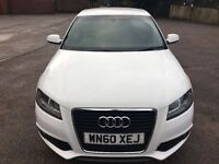 Audi A3 S line 2.0 TDI 5 door Excellent Condition Full Leather Interior BOSE SOUND SYSTEM PX BMW VW