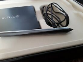 Wacom 3d pen and touch creative tablet