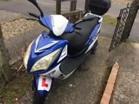 Sinnis Shittle 125cc scooter 2015 plate low milage
