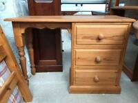 Solid pine desk FREE DELIVERY PLYMOUTH AREA