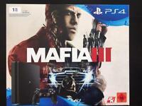 PS4 1TB Mafia 3 bundle BN&S with warranty