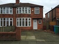 4 bed, Parsonage Rd, HALF RENT, close toamenities, public transport, Withington, Didsbury Village