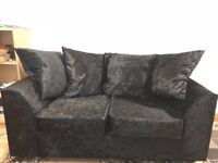 """Nearly New"" Dylan 3 + 2 Sofa Set Fabric Immaculate Condition"