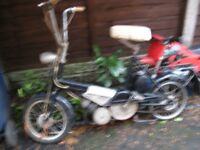 ALL MOTORCYCLES WANTED CLASSIC VINTAGE PROJECTS RARE RETRO MODERN SCOOTERS MOPEDS TOP BUYER