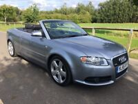 2008 audi A4 convertible S line - 2.0 T FSI - Automatic - Low miles - FSH - Great condition