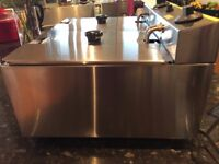 Catering equipment in excellent condition, Buffalo double fryer, Buffalo multi- pan.