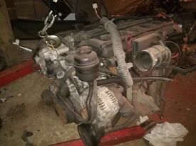 Bmw e46 323I 2.5 petrol engine+gearbox+loom