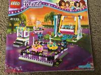 Lego Friends Amusement Sets 41133 & 41128