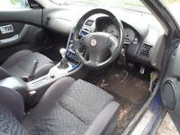 mg mgf 2001 spares or repair starts and drives no mot