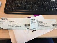 £50 - 2 tickets (face value £40 each) for Passenger - Kew Gardens 11/07