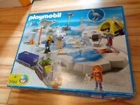 Playmobil Arctic Polar Dinosaur Snow Adventure with Box