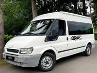 LEFT HAND DRIVE 2003 FORD TRANSIT 2.0 TDCI [9 SEATER]MINI BUS VAN/UK REG/85K MILES/DIESEL/MANUAL/LHD