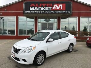 2012 Nissan Versa 1.6 SV, LOW KM, WE APPROVE ALL CREDIT