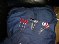 Dartboard darts flights dartboard surround