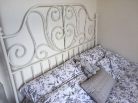 IKEA double bed and mattress for sale - very good condition