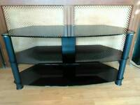 Glass Television Table
