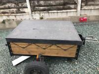 TRAILER - CAN BE USED AS BOX OR BIKE TRAILER