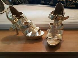 Size 5 heels.