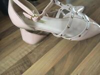 Patent Pink Shoe