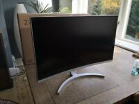"""27"""" Curved Gaming Monitor - 144Hz - Acer ED273"""