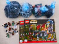 Lego Starwars 8038 The Battle of Endor -rare retired set 100% complete