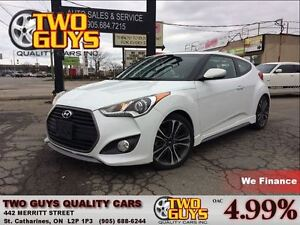 2016 Hyundai Veloster TURBO LEATHER SUN ROOF NAVIGATION TECH PKG