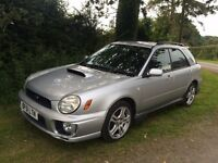 SUBARU IMPREZA WRX 5DR - UNFINISHED PROJECT - SPARES OR REPAIR