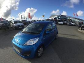 Peugeot 107 1.0 Active 5dr (blue) 2012