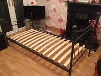 Single metal bed frame from 'Next'