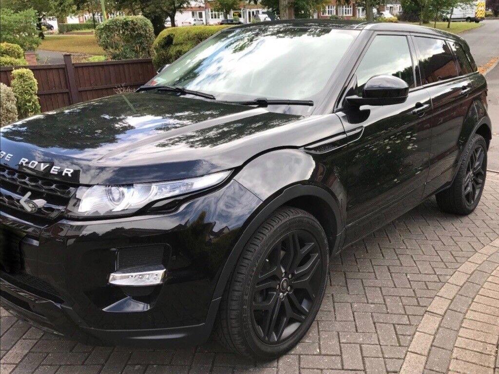 2015 Range Rover Evoque 2 2 Pure T Sd4 190hp Black Edition Awd