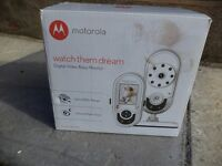 Motorola baby video monitor(COLLECTION ONLY)£35 ONO