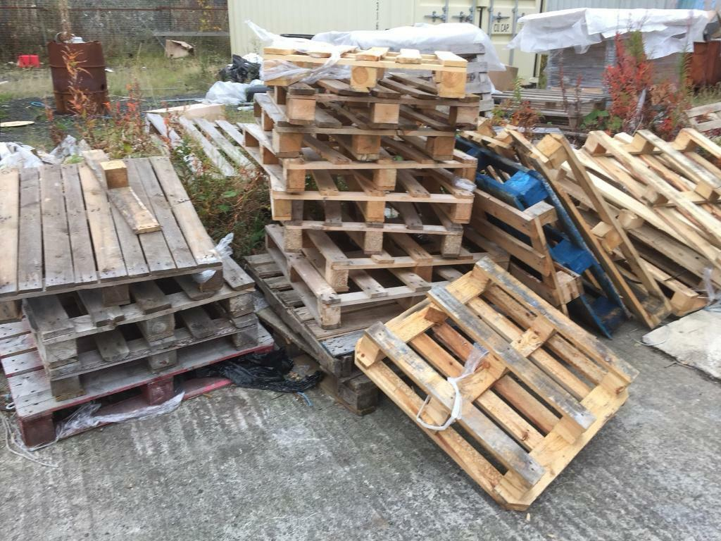 Free broken pallets to collect - houghton le spring