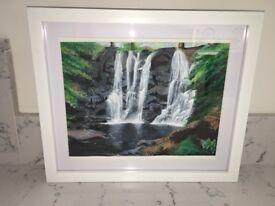 Glenariff Falls painting