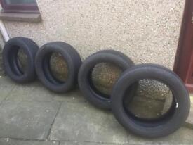 4 x Pirelli Scorpion tyres. 235/55/R19. Good condition.