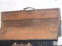 vintage wooden joiners tool box for sale