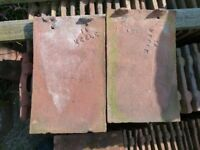 29 reclaimed keele clay roof tiles