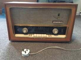 Vintage grundig radio 1950's