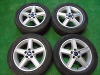 """FORD MONDEO, GALAXY, FOCUS, TRANSIT CONNECT, C-MAX, S-MAX 16"""" inch ALLOY WHEELS"""