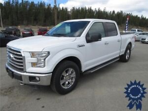 2015 Ford F-150 XLT XTR Super Crew 4x4 - 48,207 KMs, Seats 6