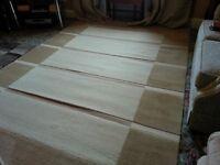 Cream rug 2 x 2.9m £90 ono
