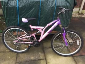 Girls Bike (Age 11-16).