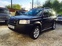 LHD LAND ROVER FREELANDER TD4 2003 ES AUTO ONLY 75K MILES LEFT HAND DRIVE