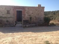 Maella, Caspe, Spain - Restored 2-Story Tall, Stone Ruin Property in Rural Spain